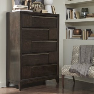 Swinton Wood 5 Drawer Chest