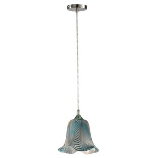 Springdale Lighting Loyola 1-Light Bell Pendant
