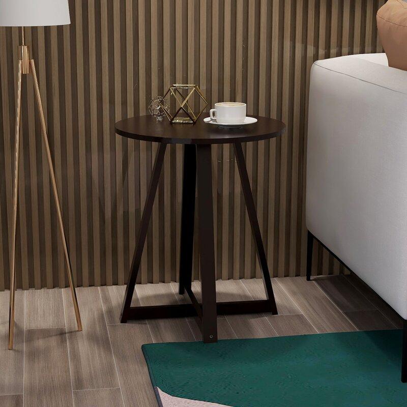 Corrigan Studio Howarth Cross Legs Coffee Table with Storage