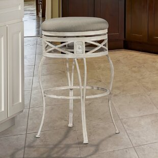 Pharris 30 Swivel Indoor/Outdoor Patio Bar Stool One Allium Way
