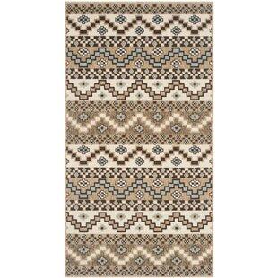 Veranda Brown/Ivory Indoor/Outdoor Area Rug by Safavieh