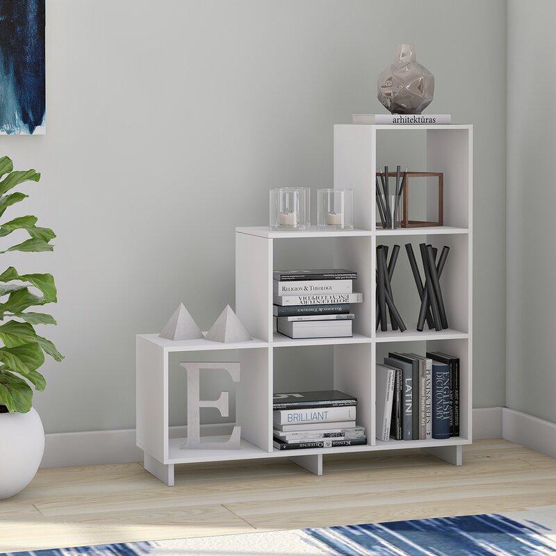 Genial Susannah Stair Cube Unit Bookcase
