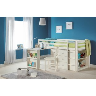 Elena Single Mid Sleeper Bed With Furniture Set By Harriet Bee