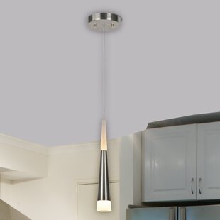 1-Light Cone Pendant by Aspen Creative Corporation