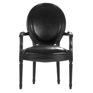 One Allium Way Asta Leather Armchair