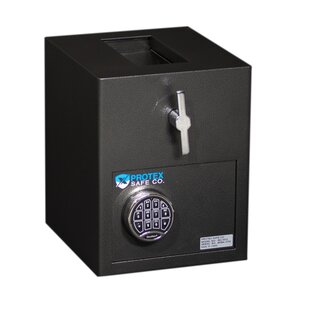 Mini Rotary Hopper Depository Safe with Electronic Lock by