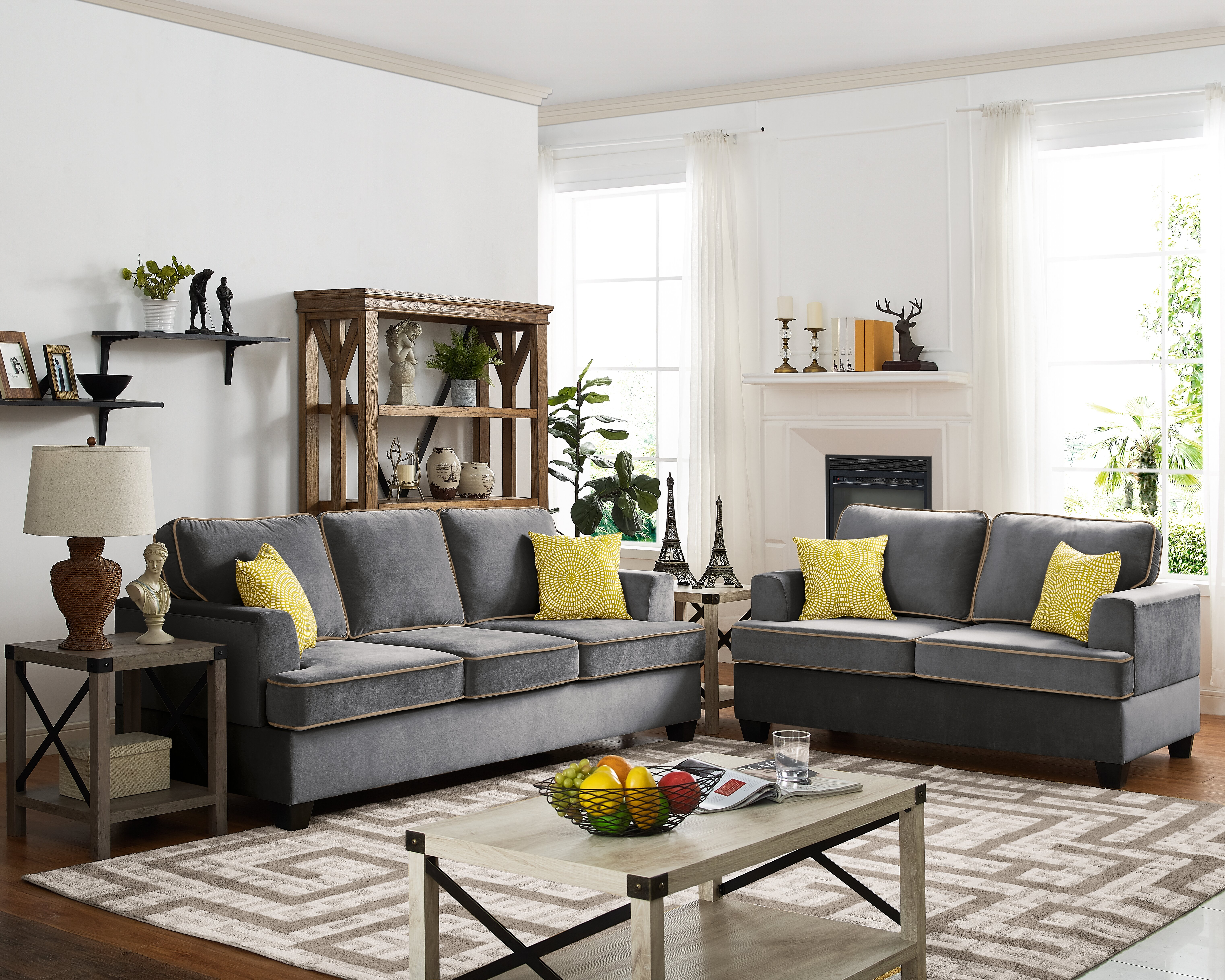 Ebern designs whittlesey 2 piece living room set reviews wayfair