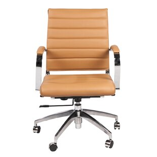 Price comparison Genuine Leather Conference Chair by Joseph Allen Reviews (2019) & Buyer's Guide