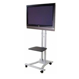 Mobile LED LCD Flat Panel HDTV Fixed Floor Stand Mount for 27