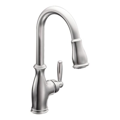Brantford Pull Down Touch Single Handle Kitchen Faucet With Reflex And  Power Boost