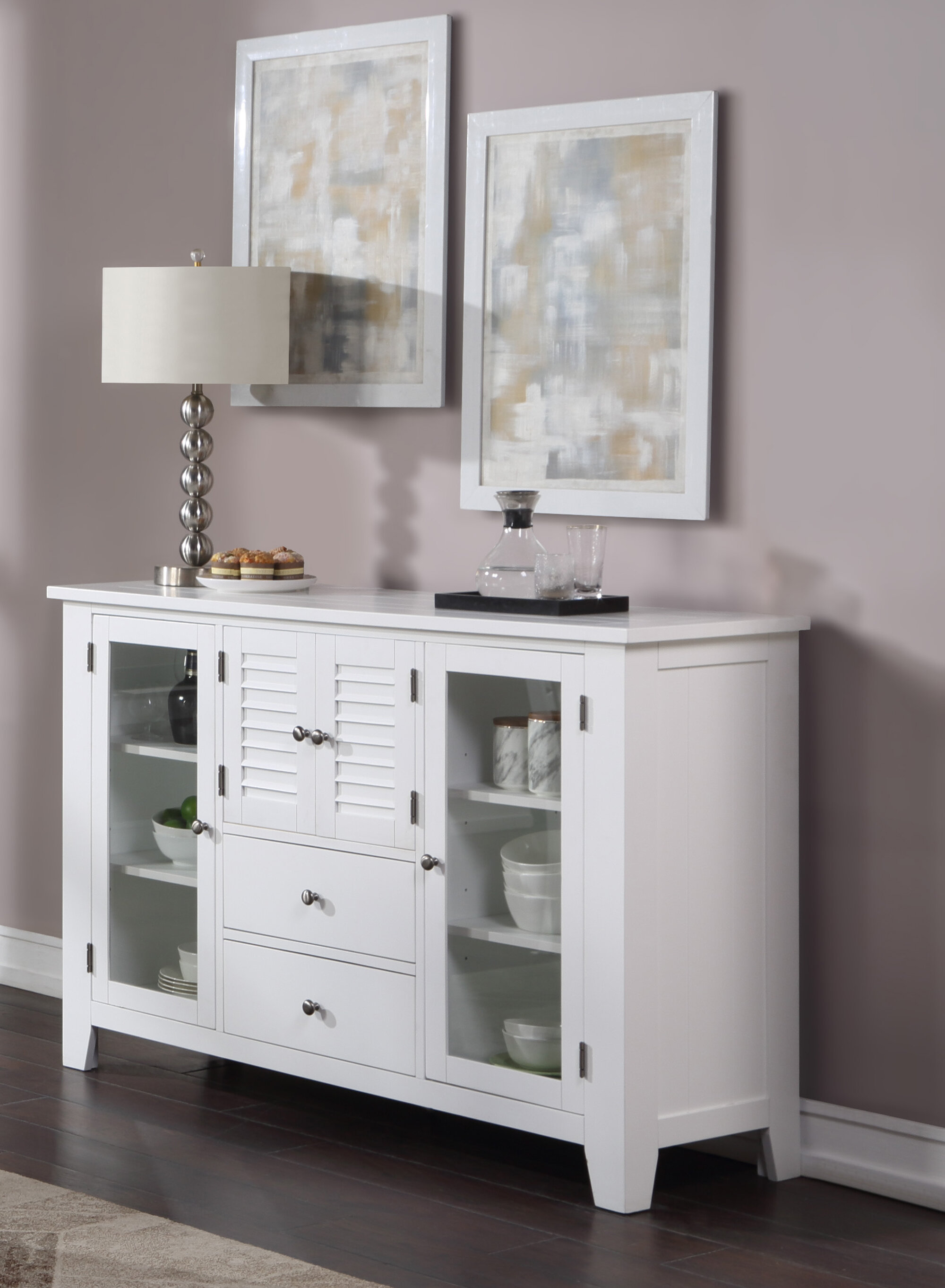 Winston Porter Falsterbo 60 Wide 2 Drawer Sideboard Wayfair