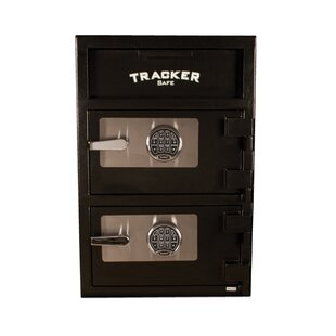 Double Door Steel Deposit Safe with Electronic Lock by