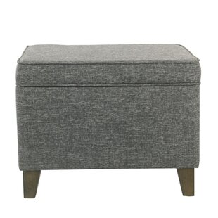 Hodgins Rectangular Storage Ottoman by Wrought Studio