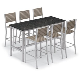 Hillard 7 Piece Bar Height Dining Set