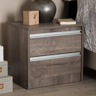 Teixeira 2 Drawer Nightstand
