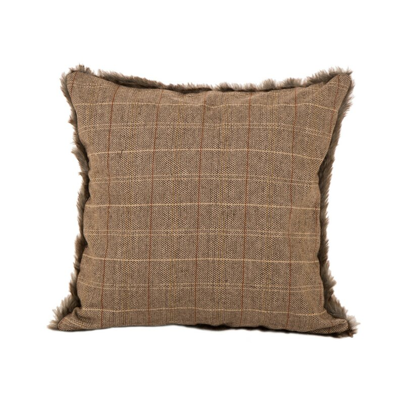 Blaise Plaid Pillow Cover
