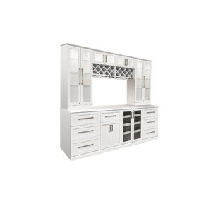 9 Piece Shaker Style Home Bar