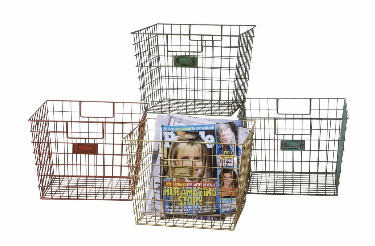Schoolhouse Wire Baskets & Reviews | Joss & Main