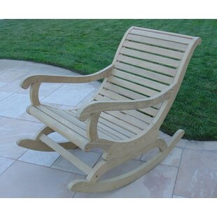 Roble Teak Rocking Chair