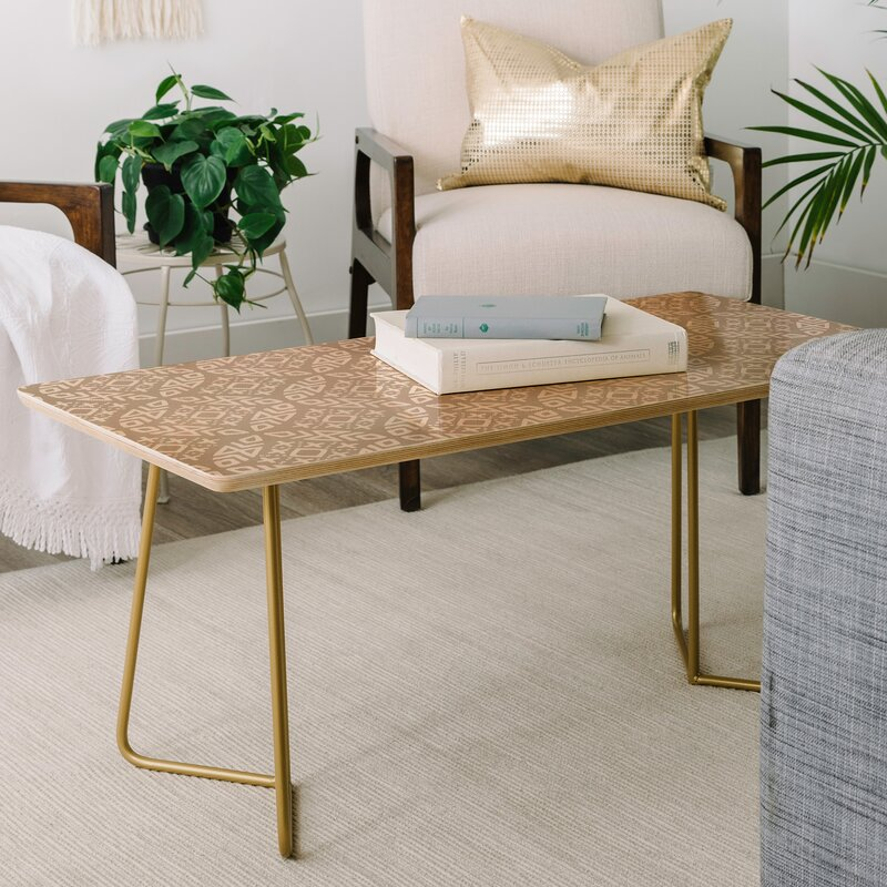 East Urban Home Little Arrow Design Co Modern Moroccan Coffee Table