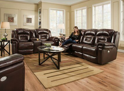 Avatar Leather Power Recliner By Southern Motion Where