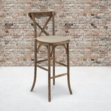 Louie 30 Bar Stool by Gracie Oaks
