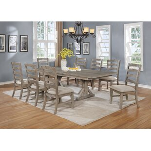 Canora Grey Stevan 9 Piece Extendable Dining Set