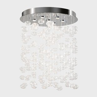 Orren Ellis Ragin 7-Light LED Flush Mount
