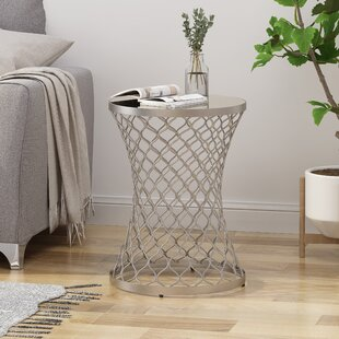 Check Prices Aronson End Table by Ivy Bronx