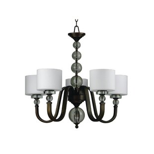 Red Barrel Studio Winder 5-Light Shaded Chandelier