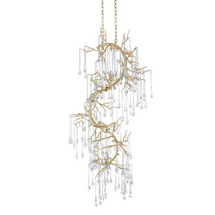 Anita 12-Light Crystal Chandelier by CWI Lighting