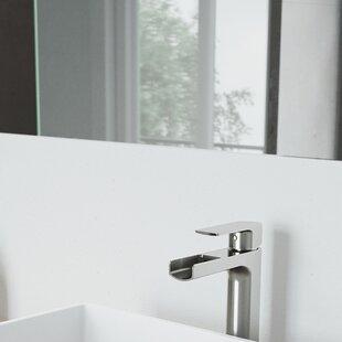 Amada Vessel Sink Single Hole Bathroom Faucet By VIGO