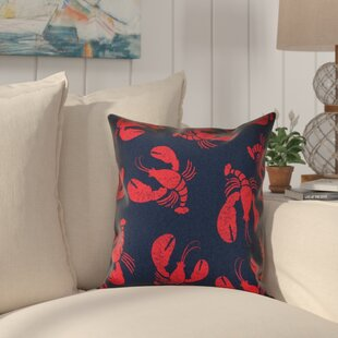 Bridgeport Lobster Fest Coastal Throw Pillow
