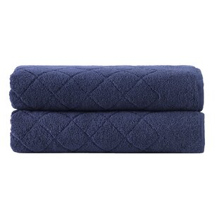 Vincent Turkish Cotton Bath Sheet (Set of 2)