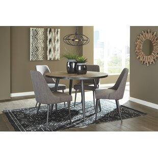 Escuderoy 5 Piece Dining Set