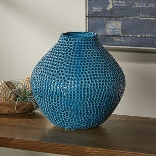 Pinehurst Blue Crater Vase