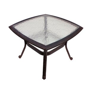 Massimo Glass Bistro Table