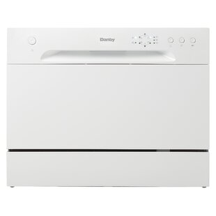 22 52 dBA Countertop Dishwasher