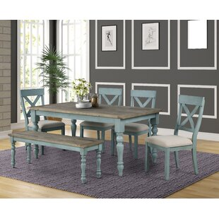 Cierra 6-Piece Dining Set Ophelia & Co.