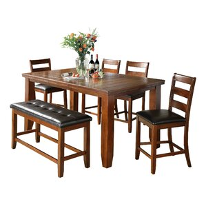 Bridlewood 6 Piece Counter Height Dining Set Part 97