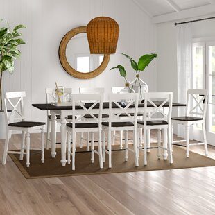 Mulford 9 Piece Extendable Dining Set Beachcrest Home