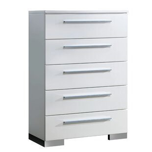 Orren Ellis Lambda 5 Drawer Chest