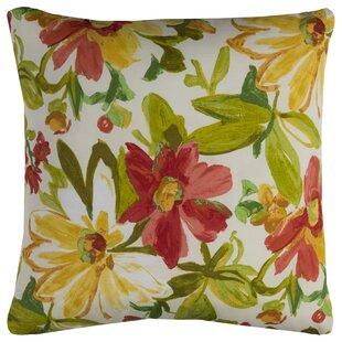 Albin Prefilled Indoor/Outdoor Throw Pillow