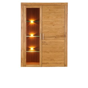 Helton Standard Curio Cabinet/Welsh Dresser By Gracie Oaks