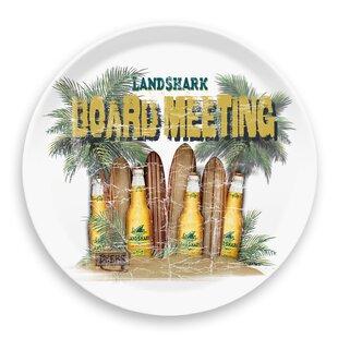 Margaritaville Board Meeting Round Melamine Platter