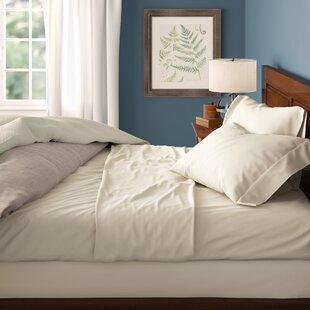 Biggsville Solid Color Cotton Blend Sheet Set by Birch Lane™ Heritage