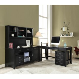 Darby Home Co Sebastiao 4 Piece L-Shape Desk Office Suite