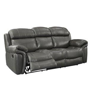 Hatzieleftheriadis Leather Reclining Sofa by Red Barrel Studio