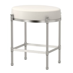 Oval Vanity Stool With Cushion