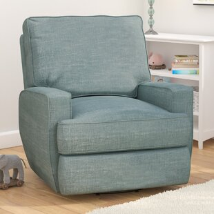Glenda Swivel Reclining Glider by Viv + Rae